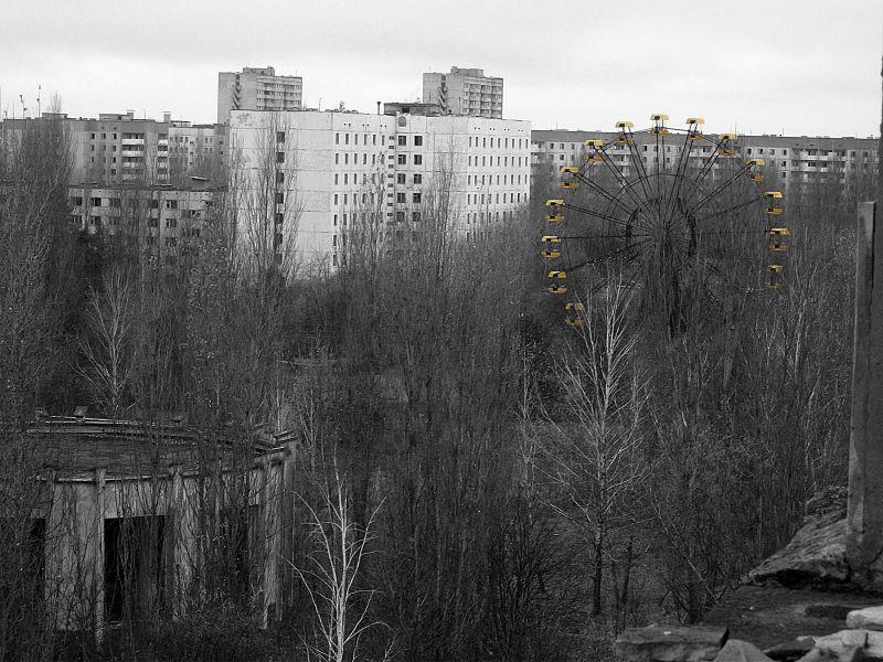 Widok z hotelu Polesie