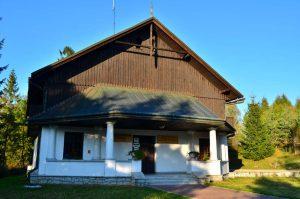 Pawilon edukacyjny PPN w Czorsztynie
