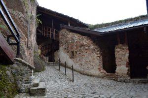 Dziedziniec Zamku w Czorsztynie