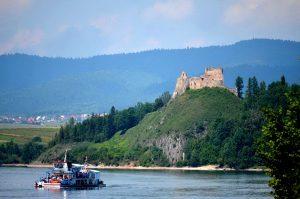 Jezioro Czorsztyńskie i Zamek w Czorsztynie