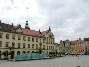 Fontanna we Wrocławiu