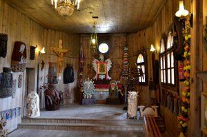 Wnętrze Kościoła w Sromowcach Niżnych